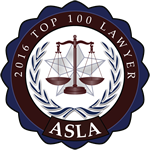 ASLA - 2016 Top 100 Lawyers